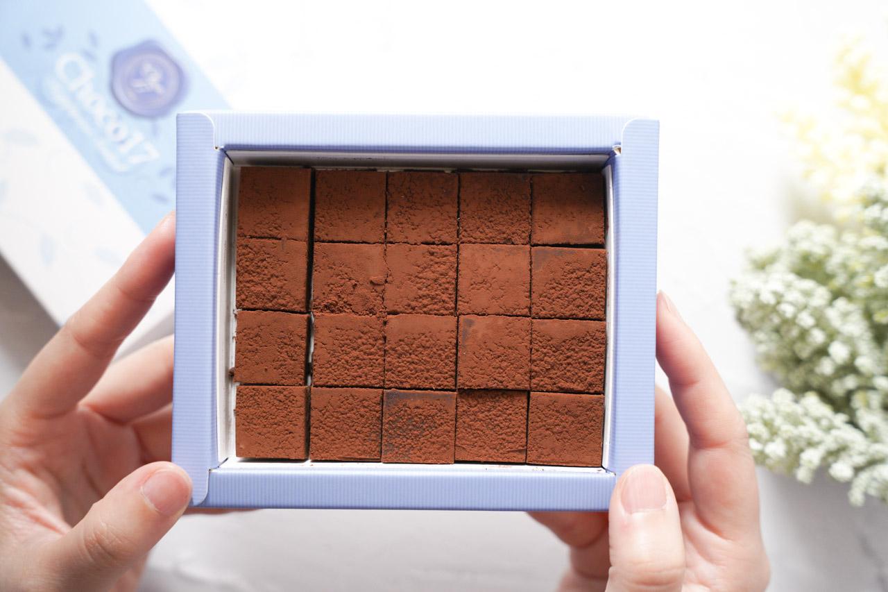 Choco17生巧克力皇家經典70%生巧克力
