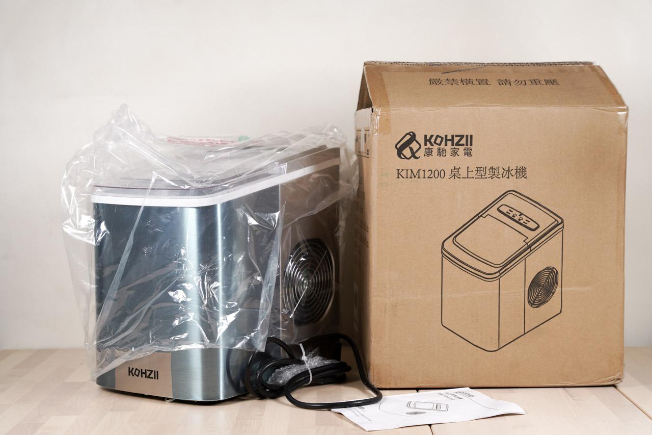 KOHZII 康馳 微電腦全自動製冰機KIM1200 02