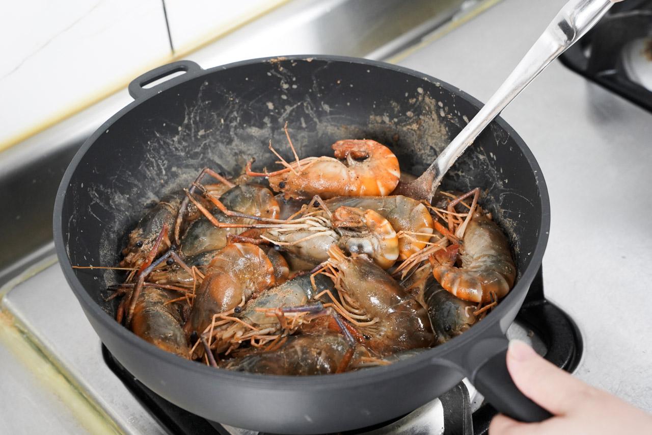 胡椒蝦做法