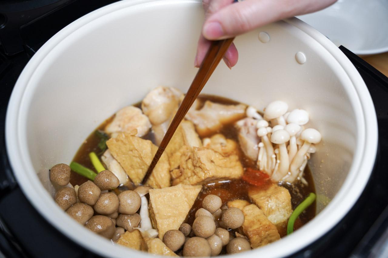 萬用鍋料理日式燒肉醬雞肉鍋02