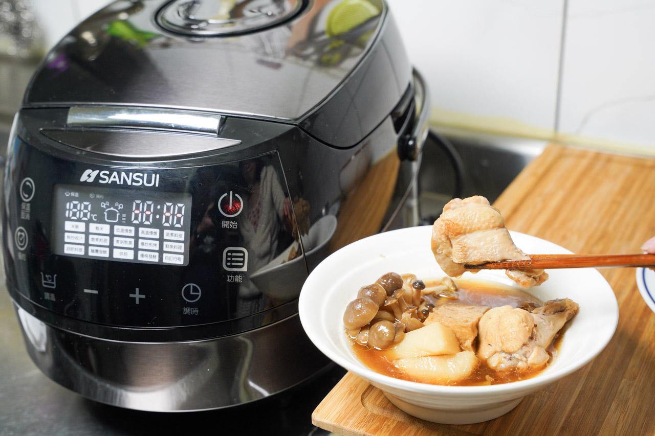 萬用鍋料理日式燒肉醬雞肉鍋01