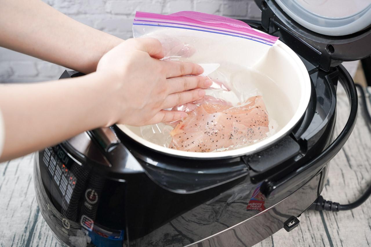 智能萬用鍋料理.舒肥雞胸肉料理03